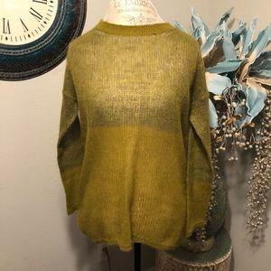 Eileen Fisher lightweight open weave sweater